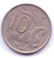 AUSTRALIA 1967: 10 Cents, KM 65 - Decimal Coinage (1966-...)