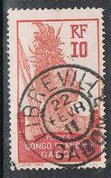 GABON N°37  Oblitération De Libreville - Gebraucht
