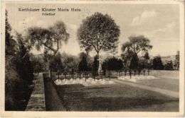 CPA AK Karthauser Kloster Maria Hain - Friedhof GERMANY (969698) - Allemagne