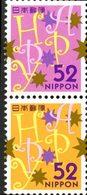 JAPON Voeux -  Happy  2v * 2014  Neuf ** MNH - Neufs