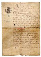 Lettre Manuscrite 1878 Certificat Favorable Mr Grimpret Dohis Cultivateur Leon Vie Bonne Conduite Alcool Elevage Enfant - Manoscritti