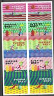 SWEDEN, 2020, MNH, ACTIVE  LEISURE TIME,  CANOEING, EXERCISE, TENNIS, GYMNASTICS, BOOKLET - Timbres
