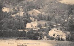 AVEYRON  12  SYLVANES - FONCLARE ET L'ETABLISSEMENT THERMAL - Francia