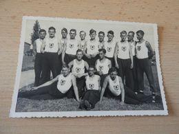 Original Foto S/w. Sportgruppe Reichsarbeitsdienst - Documenti