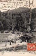 63 LA BOURBOULE - Le Funiculaire -trés Animée Année 1910    CPA - N° 737 EDIT ELD état Impeccable - La Bourboule