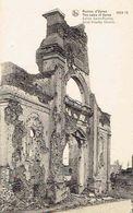 CPA  Ruines D'YPRES 1914-18 : St. Niklaaskerk - Ieper