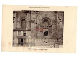 Phototypie Sadag Societe Emulation Bourbonnais Porte De L Eglise Saint St Pourcain Sur Sioule Monument Batiment Mantin - Vecchi Documenti