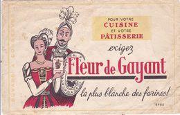 BUVARD,,,,  FLEUR  De  GAYANT  ,,,,, LA PLUS BLANCHE  DES  FARINES ,,,, - Food