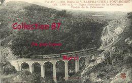 VIADUCT ☺♦♦ TRAIN ELECTRIQUE Sur Le VIADUC De La CABANASSE - Ouvrages D'Art