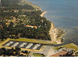 33 - Taussat Les Bains - Le Port De Plaisance, Le Complexe Sportif - Au Fond, La Plage Et Le Bourg - Vue Aérienne - France