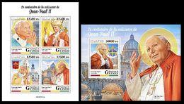 Guinea  2020 The Centenary Of John Paul II. (0130)  OFFICIAL ISSUE - Papas