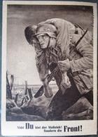 GG Sonderkarte Tag Der NSDAP Mit GG Marke Und SST Krakau 1943 - Occupazione 1938 – 45