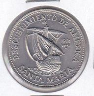 MONEDA DE CUBA DE 1 PESO DEL AÑO 1981 DESCUBRIMIENTO AMERICA- SANTA MARIA (COIN) (NUEVA - UNC) - Kuba