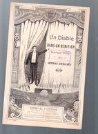 (humour??)  Monologue Comique  :UN DIABLE DANS UN BENITIER  (MPA PF 346) - Humour