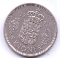 DANMARK 1977: 5 Kroner, KM 863 - Denemarken