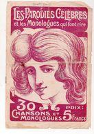 (humour??)  Monologue Comique  :LES PARODIES CELEBRES  (MPA PF 347) - Humour