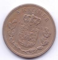 DANMARK 1963: 5 Kroner, KM 853 - Denemarken