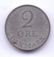 DANMARK 1958: 2 Öre, KM 840 - Denemarken
