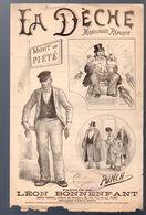 (humour??)  Monologue Comique  :  LA DECHE (ill, Punch)  (MPA PF 349) - Humour