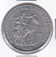 MONEDA DE CUBA DE 1 PESO DEL AÑO 1982 DON QUIJOTE DE LA MANCHA (COIN) (NUEVA - UNC) - Cuba