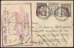 1940 - ARGENTINA - Cover + Scott 420+431/432 + BUENOS AIRES - Argentina