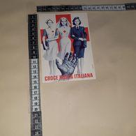 C-93282 CROCE ROSSA ILLUSTRATA ABBATI - Croix-Rouge