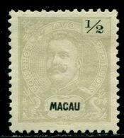 1898 King Carlos I,definitives,Macao,Macau,Mi.78 A,perf.11.5,MNG - Macao