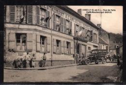 ANDILLY - Rue De Paris - Café-Restaurant GOUX. - France