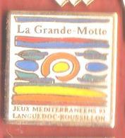 VF12 Pin's Jeux Méditerranéens Languedoc Roussillon LA GRANDE MOTTE HÉRAULT Achat Immédiat - Pin's