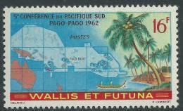 Wallis Et Futuna N° 161 XX  5ème Conférence Du Pacifique -Sud à Pago-Pago Sans  Charnière,  TB - Wallis Y Futuna
