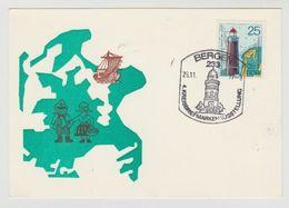 FDC Ersttagsbrief DDR Kreisbriefmarken Ausstellung Bergen 1977 - [6] Democratic Republic