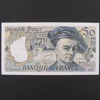 50 Francs Quentin De La Tour 1976, Pr.Neuf - 50 F 1976-1992 ''Quentin De La Tour''