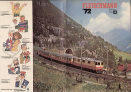 Catalogue FLEISCHMANN 1972 HO 1/87 - Auto-Rallye - + Prislista  SEK- En Suédois - Libros Y Revistas