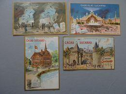 Lot De 9 Chromos Chocolat Suchard: Exposition Universelle Paris 1900, Oiseaux, Etc - Suchard