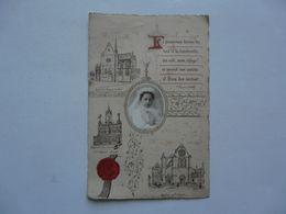 VIEUX PAPIERS - SOUVENIR DE COMMUNION : Eglise St Aignan De CHARTRES 1901 - Communion