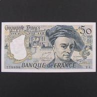 50 Francs Quentin De La Tour 1977, Pr.Neuf - 50 F 1976-1992 ''Quentin De La Tour''