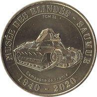 2020 MDP125 - SAUMUR - Musée Des Blindés 10 (FCM36-Campagne De France ) / MONNAIE DE PARIS - Monnaie De Paris