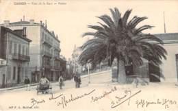 06 - Cannes - Coin De La Gare, Postes (cachet Perlé St-Bonnet-Briance 1903) - Cannes