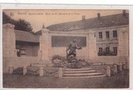 Wervik  Wervicq  Memoriale 1914-18   Oeuvre De Mr Beirnaerts De La Panne - Wervik