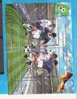 2006 BF-4  FUSSBALL DEUTSCHLAND WELTMEISTERSCHAFT MONTENEGRO CRNA GORA MNH - Montenegro