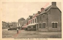 50.   COUTAINVILLE PLAGE .  La Place De La Gare . - Other Municipalities