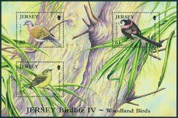 JERSEY BF Oiseaux IV 2010 (3v) Neuf ** MNH - Jersey