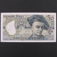 50 Francs Quentin De La Tour 1978, SPL - 50 F 1976-1992 ''Quentin De La Tour''