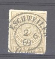 GRX 0788 -  Allemagne  -  Du Nord  :  Yv  6   (o)    Obl.  Eschweiler - Norddeutscher Postbezirk