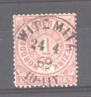GRX 0814  -  Allemagne  -  Du Nord  :  Yv 15   (o)   Obl. Witzmitz - Norddeutscher Postbezirk