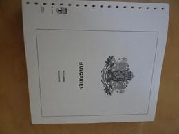 Bulgarien Lindner Falzlos 1998-2008 (14818) - Albums & Reliures