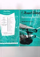 L'Avant-Scène N°151 Femina-théâtre Hibernatus Théâtre De L'Athénée J. Bernard-Luc J.P.Marielle R.Blin J.Martin L.Kedrova - Autres