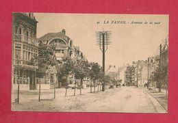 C.P. De Panne =  Avenue  De La Mer - De Panne