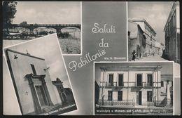 PABILLONIS (CAGLIARI) SALUTI E VEDUTINE 1955 - Cagliari