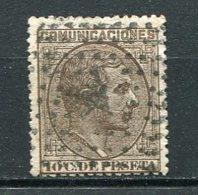 Yv. 1878 N°  175  (o)  10c Brun  AlphonseXII   Cote  0,5  Euro  BE    2 Scans - Usados